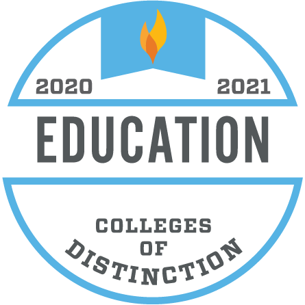 2020 2021 Education College of Distinction