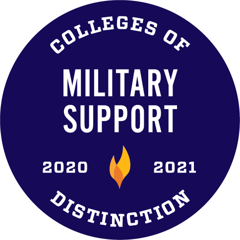 2020-2021 Military Support Colleges of Distinction