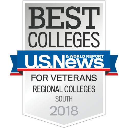 Best Colleges for Veterans by U.S. News and World Report, Regional Colleges South 2018