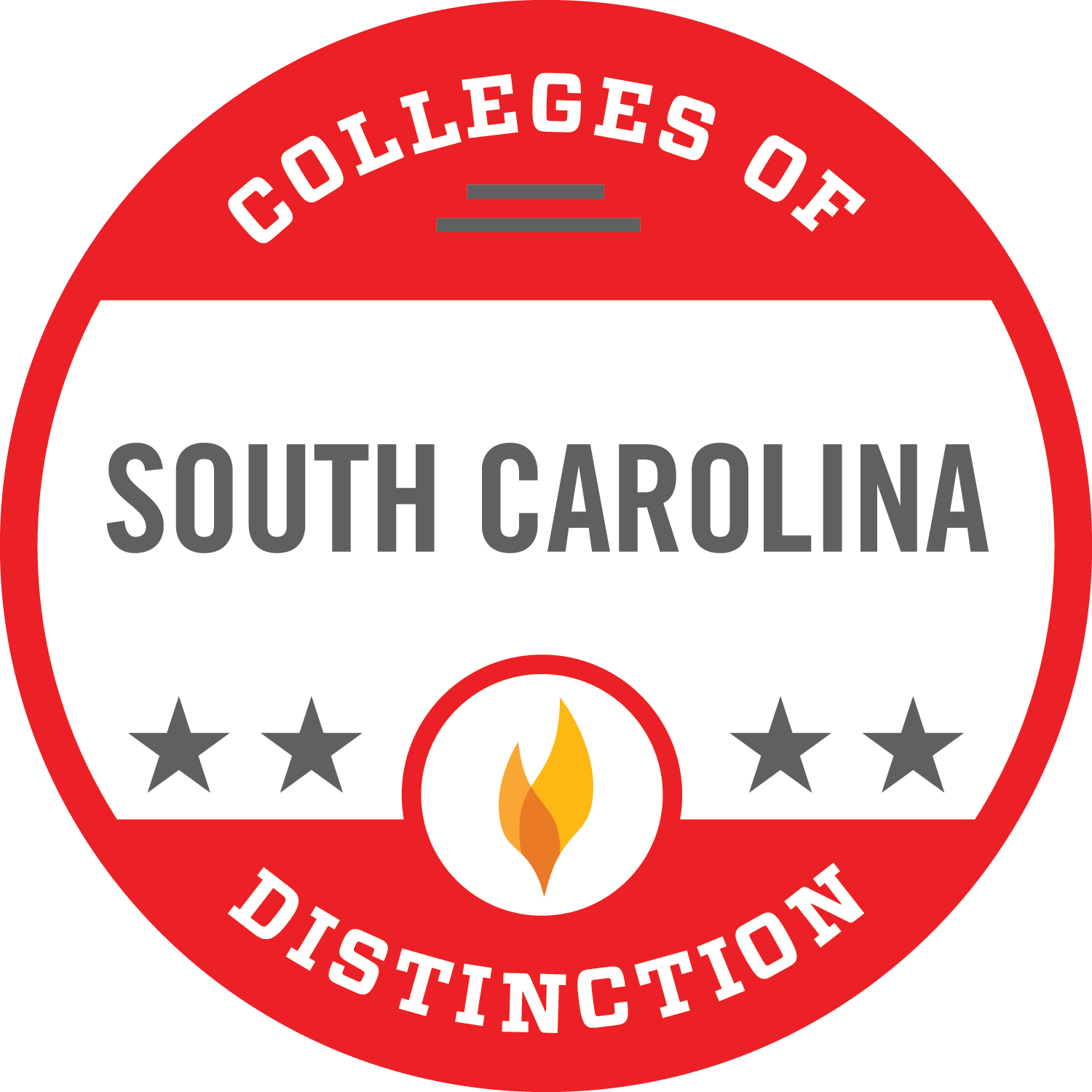 Colleges of Distinction South Carolina logo