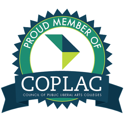 Proud Member of COPLAC, Council of Public Liberal Arts Colleges