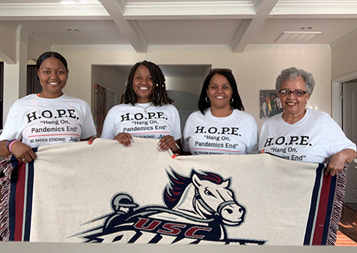 Qourters Family in Hope Shirts
